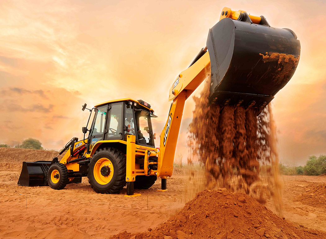 JCB 3DX ecoXPERT IntelliPERFORMANCE technology
