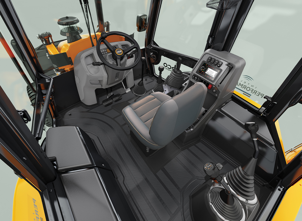 Operator comfort in the new JCB 3DX ecoXPERT